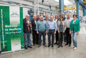 Bild Monforts VDTF_Vorstand besucht Monforts_Technikum